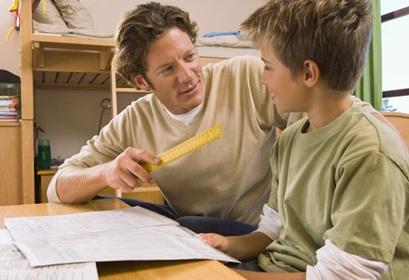Dạy con cách tập trung khi học, tao khong khi thoai mai khi day con hoc