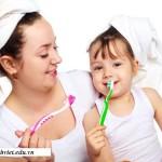 Bí quyết tập đánh răng cho bé, bi quyet tap danh rang cho be